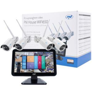 PNI House WiFi650 videó megfigyelő készlet
