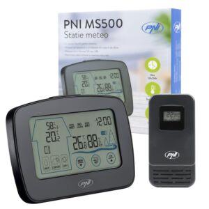 PNI MS500 meteorológiai állomás külső érzékelővel