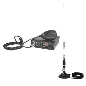 CB PNI ESCORT HP 8000L ASQ rádióállomás + mágneses CB PNI S75 antenna