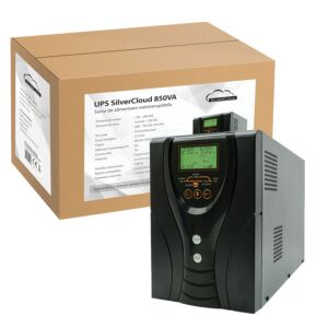 UPS SilverCloud 850VA szinuszos LCD kijelzővel
