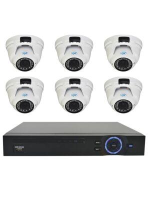 Videófelügyeleti készlet PNI ház - NVR 16CH 1080P és 6 PNI IP2DOME 1080P varifocal kamera