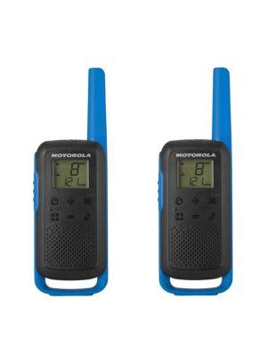 Hordozható PMR rádióállomás Motorola TALKABOUT T62 BLUE készlet 2 db
