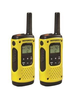 Hordozható PMR rádióállomás Motorola TLKR T92 H2O IP67 készlet 2 db sárga színnel